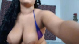Curvy exotic Jane with big black balloons and juicy booty